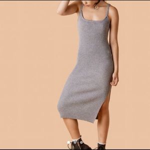 UNIF Cameron Dress in Gray